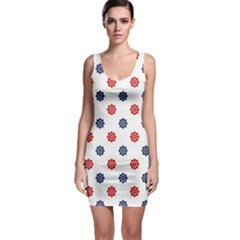 Boat Wheels Nautical Bodycon Dress by StuffOrSomething