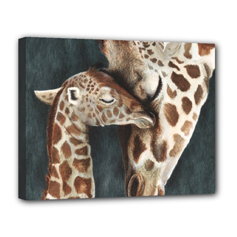 A Mother s Love Canvas 14  X 11  (framed) by TonyaButcher