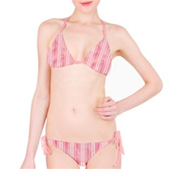 Pink Grunge Bikini by StuffOrSomething