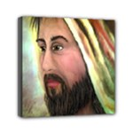 Jesus - Eyes of Compassion - Ave Hurley - Mini Canvas 6  x 6  (Stretched)