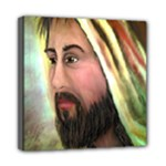 Jesus - Eyes of Compassion - Ave Hurley - Mini Canvas 8  x 8  (Stretched)
