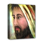 Jesus - Eyes of Compassion - Ave Hurley - Deluxe Canvas 14  x 11  (Stretched)