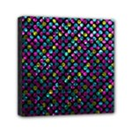 Polka Dot Sparkley Jewels 2 Mini Canvas 6  x 6  (Framed)