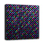 Polka Dot Sparkley Jewels 2 Mini Canvas 8  x 8  (Framed)