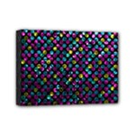 Polka Dot Sparkley Jewels 2 Mini Canvas 7  x 5  (Framed)