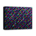 Polka Dot Sparkley Jewels 2 Deluxe Canvas 14  x 11  (Framed)