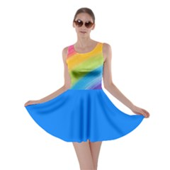 Acrylic Rainbow Skater Dress by StuffOrSomething