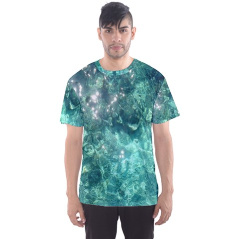 Water Men s Full All Over Print Sport T-shirt by SonderSky