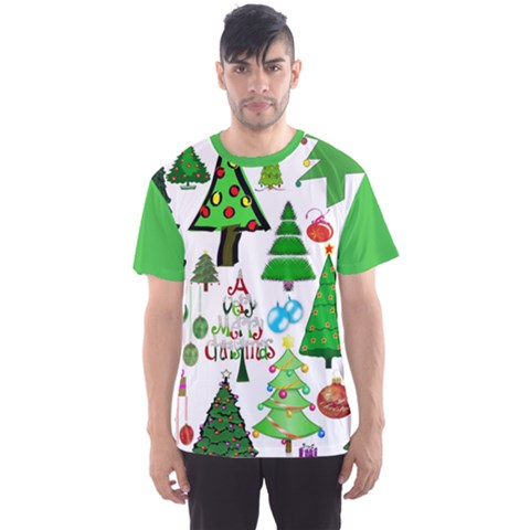Oh Christmas Tree Men s Full All Over Print Sport T-shirt by StuffOrSomething