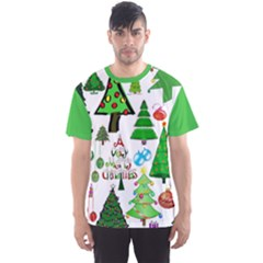 Oh Christmas Tree Men s Full All Over Print Sport T Shirt by StuffOrSomething