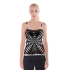 Zombie Apocalypse Warning Sign All Over Print Spaghetti Strap Top by StuffOrSomething