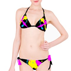 Splatter Bikini by UniqueandCustomGifts