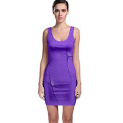 Twisted Purple Pain Signals Bodycon Dress by FunWithFibro