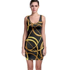 Futuristic Ornate Print Bodycon Dress by dflcprintsclothing
