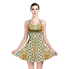 Art Print Tribal Style Pattern Reversible Skater Dress by dflcprintsclothing