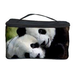 Panda Love Cosmetic Storage Case by TheWowFactor
