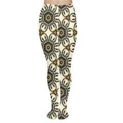 Faux Animal Print Pattern Tights by creativemom