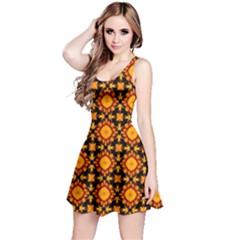 Cute Pretty Elegant Pattern Sleeveless Dress by creativemom