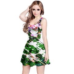 Officially Sexy Green Floating Hearts Collection Sleeveless Dress