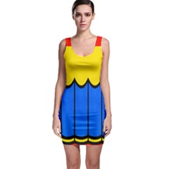 Colorful Curtain Bodycon Dress by LalyLauraFLM