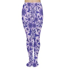 Decorative Floral Print Tights by dflcprintsclothing