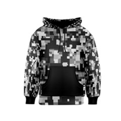 Background Noise In Black & White Kid s Pullover Hoodie by StuffOrSomething