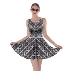 Retro Decorative Pattern Skater Dress