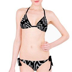 Geometric Tribal Print Bikini by dflcprintsclothing