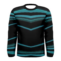 Dark Abstract Print Men s Long Sleeve T-shirt by dflcprintsclothing
