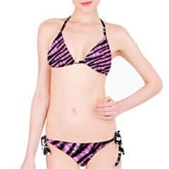 Pink Black Tiger Bling  Bikini by OCDesignss