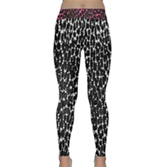Black&white Leopard Print  Yoga Leggings  by OCDesignss