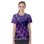 Blue purple Glass Women s Sport Mesh Tee