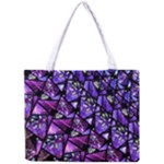 Blue purple Glass Tiny Tote Bag