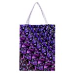 Blue purple Glass Classic Tote Bag