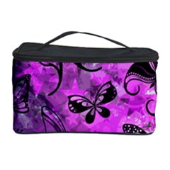 Butterfly Graffiti Cosmetic Storage Case by ArtistRoseanneJones