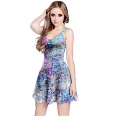 Graffiti Splatter Reversible Sleeveless Dress