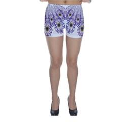 Peacock Skinny Shorts by olgart