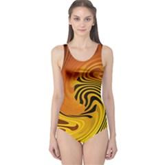Crazy One Piece Swimsuit by oddzodd