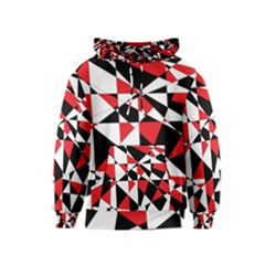 Shattered Life Tricolor Kid s Pullover Hoodie by StuffOrSomething