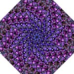 Blue purple Shattered Glass Folding Umbrellas