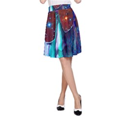 Voyage Of Discovery A Line Skirts by icarusismartdesigns