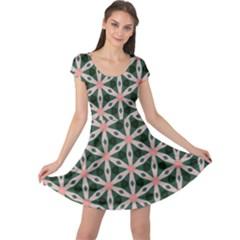 Cute Pretty Elegant Pattern Cap Sleeve Dresses by creativemom