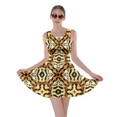 Faux Animal Print Pattern Skater Dresses by creativemom