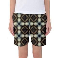 Faux Animal Print Pattern Women s Basketball Shorts by creativemom
