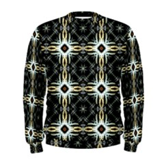 Faux Animal Print Pattern Men s Sweatshirts by creativemom