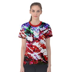 Officially Sexy Floating Hearts Collection Red Short Sleeve T Shirt by OfficiallySexy
