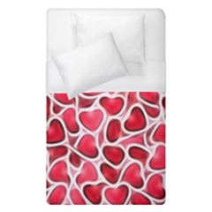 Candy Hearts Duvet Cover Single Side (single Size) by KirstenStar