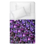 Blue purple Shattered Glass Duvet Cover Single Side (Single Size)
