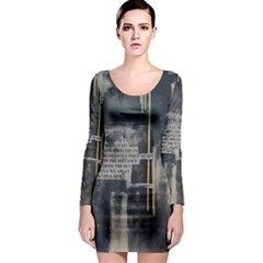 The Dutiful Rise Long Sleeve Bodycon Dresses by timelessartoncanvas