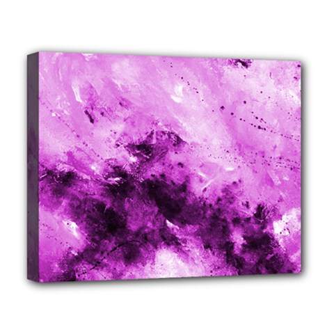 Bright Pink Abstract Deluxe Canvas 20  X 16   by timelessartoncanvas